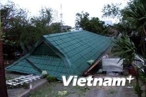 Hàng chục người thương vong do cơn bão số 11