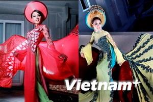 Tôn vinh áo dài Việt Nam
