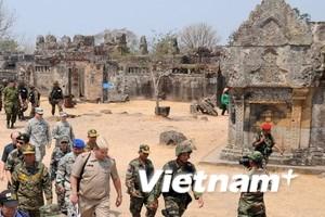 Thái-Campuchia sẽ rút quân khỏi khu tranh chấp