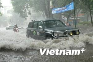 Bão số 3 gây mưa lớn từ Quảng Bình đến Nghệ An