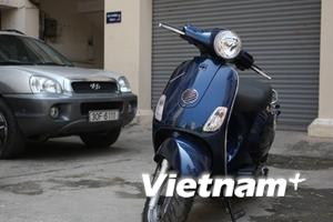 """Honda không liên quan động cơ xe """"lai"""" Vespa LX"""