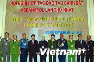 Tăng hợp tác đào tạo cảnh sát trong khu vực ASEAN