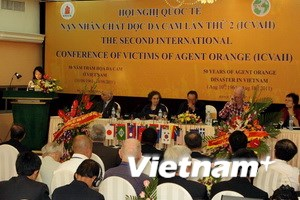 Đại biểu 5 châu dự Hội nghị quốc tế nạn nhân dioxin