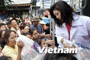 Bangkok: Lũ bắt đầu giảm