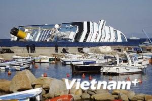 Ba công dân Việt trên tàu Costa Concordia an toàn