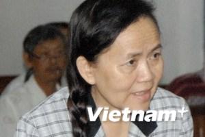 Bà Trần Ngọc Sương đề nghị giám đốc thẩm vụ án