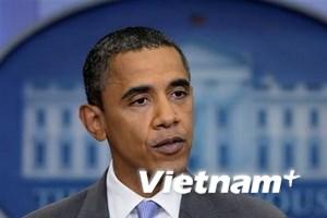 Ông Obama ký thành luật dự luật nâng mức trần nợ