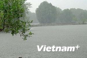 Trung Trung Bộ có mưa to do ảnh hưởng bão số 3