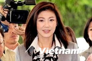 Ủy ban bầu cử Thái chưa công nhận bà Yingluck