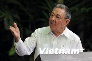 Chủ tịch Raul Castro: Cuba sẵn sàng đối thoại với Mỹ