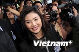 Nhà vua Thái phê chuẩn bà Yingluck làm thủ tướng