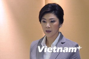 Nữ Thủ tướng Thái Lan Yingluck đến Campuchia