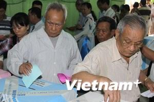 Hai địa phương công bố kết quả bầu HĐND tỉnh
