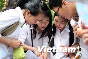 Nhiều tỉnh công bố kết quả thi tốt nghiệp THPT