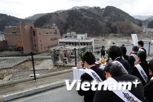 Nhật Bản tổ chức tưởng niệm 1 năm thảm họa kép