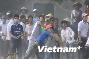 Về vụ kích động, gây rối ở xã Nghi Phương, Nghệ An