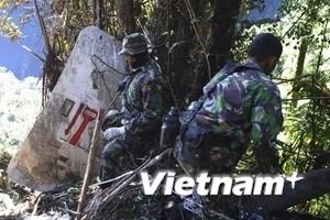 Vụ tai nạn máy bay: Chưa hoàn thành việc tìm kiếm
