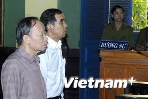 Xét xử sơ thẩm đối với Huỳnh Ngọc Sỹ, Lê Quả