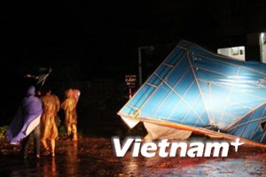 Cơn bão số 3 đã suy yếu thành một vùng áp thấp