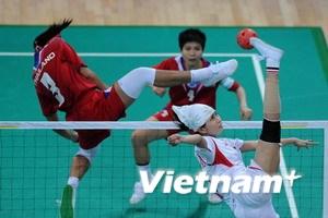 Việt Nam thêm 1 huy chương bạc môn đua thuyền