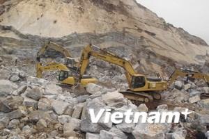 Nỗ lực tìm kiếm nạn nhân cuối cùng vụ sập mỏ đá