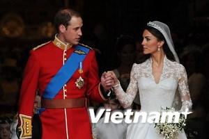 Đám cưới hoàng gia Anh đạt kỷ lục trên YouTube