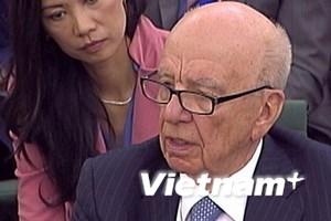 Rupert Murdoch nói những gì trước quốc hội Anh?