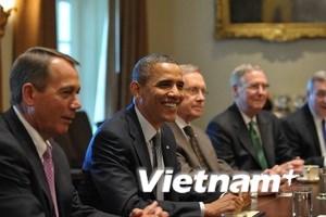 """Nợ công - """"Trò chơi cân não"""" của các lãnh đạo Mỹ"""