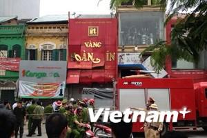 Nổ lớn tại tiệm vàng trên đường Nguyễn Thái Học