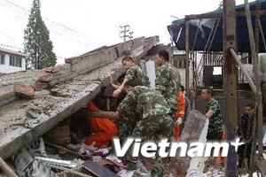 Cứu 150 người trong 72 giờ sau động đất Tứ Xuyên