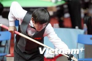 """Đình Tiến giải """"cơn khát vàng"""" cho Billiards VN"""