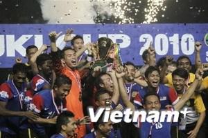 Malaysia lần đầu tiên đăng quang tại AFF Cup