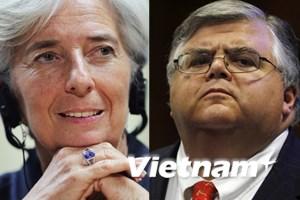 IMF chính thức công bố ứng cử viên Tổng Giám đốc