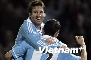 """Ngập"" lời khen Messi sau trận thắng Costa Rica"