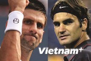 """Trả nợ"" Tsonga, Roger Federer tái ngộ Djokovic"