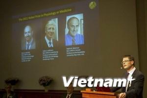 Công bố Nobel Y học