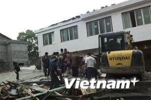 Một trận động đất 6,9 độ Richter xảy ra tại Tứ Xuyên