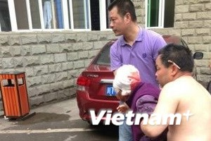 Động đất ở Trung Quốc: 72 người chết, 600 bị thương