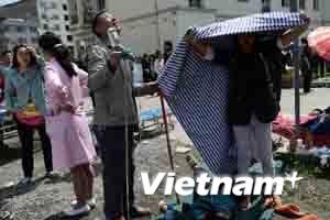 Chủ tịch Trung Quốc chỉ thị nỗ lực cứu trợ nạn nhân
