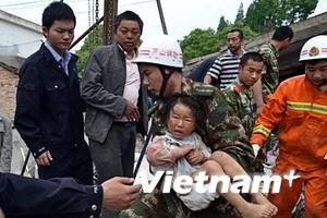 Động đất Tứ Xuyên: Hơn 11.400 người thương vong
