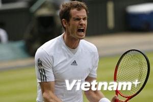 Murray ngược dòng nghẹt thở vào bán kết Wimbledon