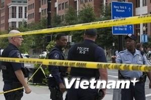 Video về vụ xả súng kinh hoàng ở căn cứ hải quân Mỹ