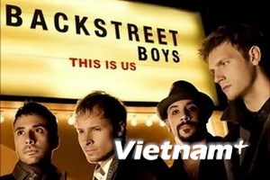 Backstreet Boys gửi lời chào người hâm mộ Việt