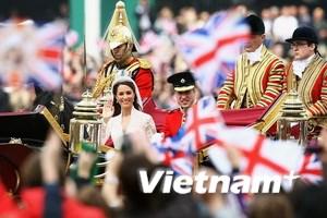 Gần 40% dân Anh xem đám cưới Hoàng gia qua TV