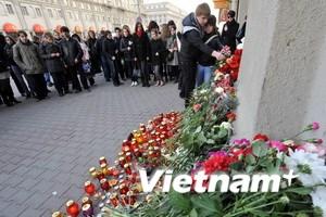 Belarus để tang các nạn nhân của vụ khủng bố