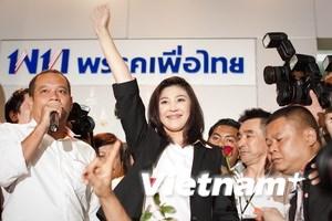 Thêm 1 đảng tham gia liên minh của bà Yingluck