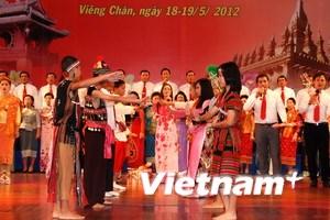 Hội diễn văn nghệ người Việt tại Lào mừng SN Bác