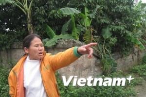 Xóm Bờ sông điêu đứng vì Tung Kuang gây ô nhiễm