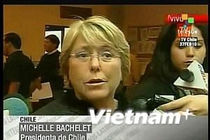 """Chile ban bố """"tình trạng thảm họa"""" do động đất"""