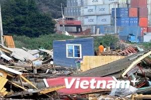 Các hoạt động tái thiết sau động đất tại Chile